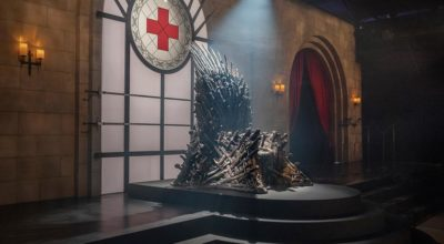red cross throne